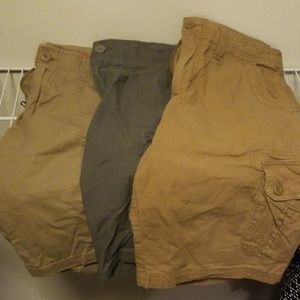 urban pipeline Shorts - Mens Urban Pipeline Cargo Shorts Set of 3.
